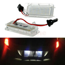 1Pair License Number Plate Light 18LED Lamps Replace Ford Mondeo Focus 5D Canbus