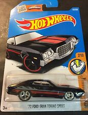 Hot Wheels CUSTOM Super 72 Ford Gran Torino Sport with Real Riders