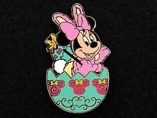 Tokyo Disney Trading Pin - Japan Easter Wonderland Minnie Mouse Bunny Egg 77400