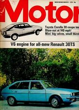 MOTOR Magazine - March 1 1975 - Test: Toyota Corolla 30 Coupe
