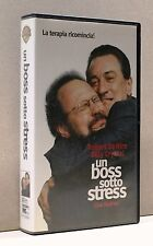 UN BOSS SOTTO STRESS [vhs, robert de niro, billy crystal, lisa kudrow, warner]