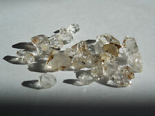 24  HERKIMER DIAMOND QUARTZ CRYSTALS 5-10mm from NY; 7g; ORGONE: Metaphysical 38