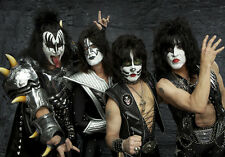 KISS Rock Band Music Quality Canvas Print