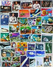 SPACE Exploration superb stamp collection, 1000 different stamps (lot#dp)