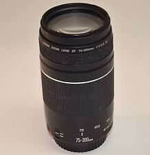 Canon EF 75-300mm f/4.0-5.6 III Lens AF/MF