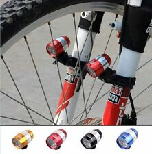 Mini Cycling Bicycle Bike Front Fork 2 Modes 6 LED Light Safety Warning Lamp