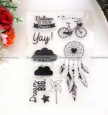 Dream Catcher Silicone Clear Transparen Stamp Card Making Stamping Set