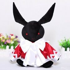 Pandora Hearts Alice Anime Japanese Black Rabbit Plush Toy Doll Cosplay Gift New