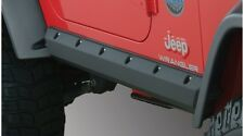 Bushwacker Trail Armor Pocket Style Rocker Panel Black 97-06 Jeep Wrangler TJ