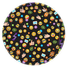 EMOJI LOL SMALL PAPER PLATES (8) ~ Birthday Party Supplies Cake Dessert iPhone