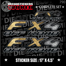 *NEW* 4X4 SPORT OFFROAD DECAL STICKER FITS RAPTOR FX4 F150 F250 F350 RANGER  790