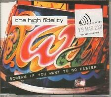 (217Z) The High Fidelity, Scream If You Want... - DJ CD