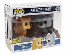 funko pop lady and the tramp hot topic exclusive disney vinyl toy figure IN HAND