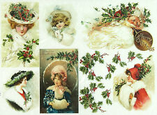 Ricepaper/ Decoupage paper,Scrapbooking Sheets/Craft Paper Merry Christmas 3