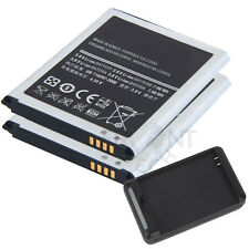 2* 2100mAh  Battery+Charger For Samsung Galaxy S3 i9300 T999 I747 L710 I535