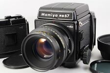 [Exc+++++] Mamiya RB67 Pro SD + K/L 127mm + 2x120 Film Back From Japan #00065