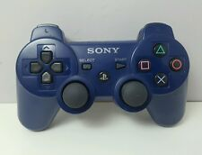 Sony Genuine PS3 Controller Playstation 3 Blue CECHZC2E Dualshock SixAxis