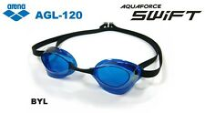arena swimming Goggle non cushion type Blue×Black anti-fog AGL120 MADE IN JAPAN