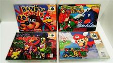 25 SNES / N64 / ATARI JAGUAR BOX PROTECTORS   CLEAR CASES!  SUPER NINTENDO N64