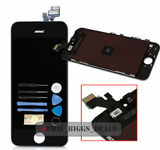 Black iPhone 5 5G LCD Digitzier Touch Screen Assembly Replacement+Tools UK