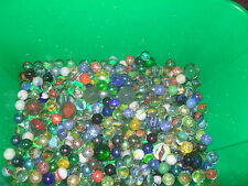 Huge Bundle / Job Lot Of Approx 10KG Glass Marbles Swirls Vintage Retro? Toys