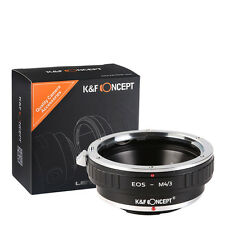 EOS-M4/3 For Canon EOS EF Mount Lens to Micro 4/3 Adapter Ring Olympus Panasonic