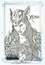 Xena Art & Images Autograph Sketch Card Sketchafex Cris Bolson