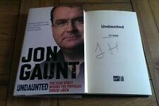 Undaunted The Story Behind the Popular Shock-jock SIGNED Jon Gaunt Autobiography