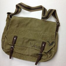 Military AMERICAN EAGLE GREEN CROSSBODY SATCHEL  Messenger BAG