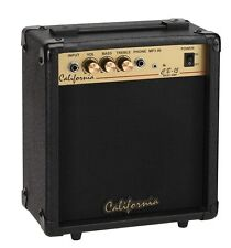 California 15 Watts Bass Amplifier, Bass Guitar Practice Amplifier, CB-15