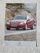 MERCEDES BENZ DIESEL NEW SALES BROCHURE C220 CDI WRITE UP 10 PAGES