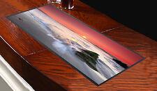 Tappetino da bancone immagine tramonto rosso, ideale per bar pub club