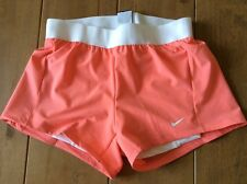 Nike Ladies Running Shorts Dri Fit size Large