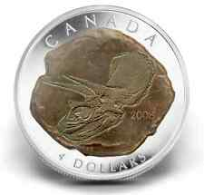 CLEARANCE MUST SELL! Canada 2008 Triceratops 99.99% Fine Silver DINOSAUR coin