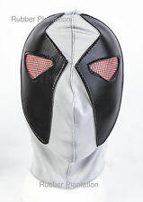 Grey Wrestling Spandex Mask mexican wrestling fancy dress Halloween Adult Child