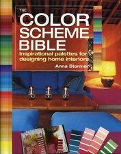 THE COLOR SCHEME BIBLE - ANNA STARMER (PAPERBACK) NEW