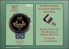 Royale BADGE auto bar BADGE-AJS Cadwell 125cc-b1.1576