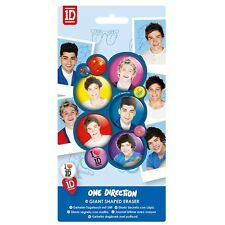 One Direction 1D Eraser School Stationery Brand New Gift