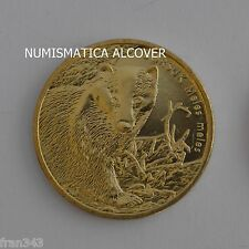 POLAND POLONIA 2 zlotych 2011 BADGER TEJON y#762 - UNC