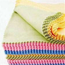 Sunglasses Eyeglass Cleaning Cloth Microfiber Clean Lenses Cloth Wipes 100Pcs