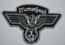 #681 Motorhead Wing Cut Logo ,EMBROIDERED Iron onSew PATCH