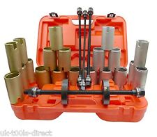 26pc Press and Pull Sleeve Tool Kit Universal Set Seal Bearings Bushes Puller