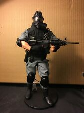 Custom Gi Joe SWAT police FBI 1/6 Scale Kitbash-- Stand Not Included