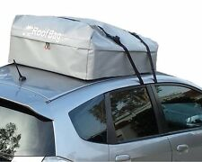 Waterproof Roof Top Cargo Carrier for any Car Van or SUV (11 Cubic Feet, Gray)