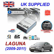 LAGUNA 2009-11 MP3 SD USB CD AUX Input Audio Adapter Digital CD Changer Module
