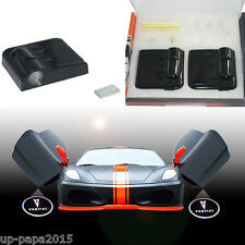 For Pontiac CREE LED wireless Car door logo shadow ghost welcome light projector
