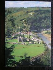 POSTCARD MONMOUTHSHIRE TINTERN ABBEY A VIEW FROM DEVILS PULPIT