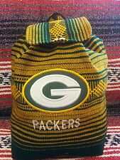 Mexican backpack handmade Indian bag tote NFL Green Bay Packers logo