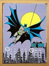 DC Comics Batman Gotham City - Tin Metal Perpetual Calendar