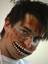 HALLOWEEN-Accessories-Circus-Creepy-Evil-Scary-Twisted Clown ZOMBIE HORROR MOUTH